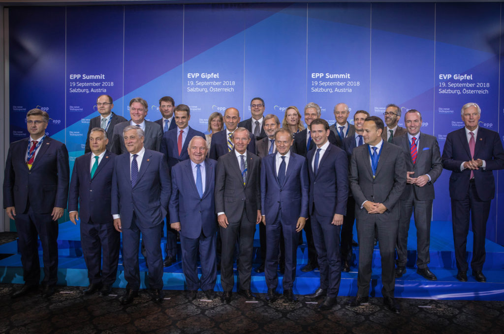 EPP Summit 16 September 2018 Salzburg