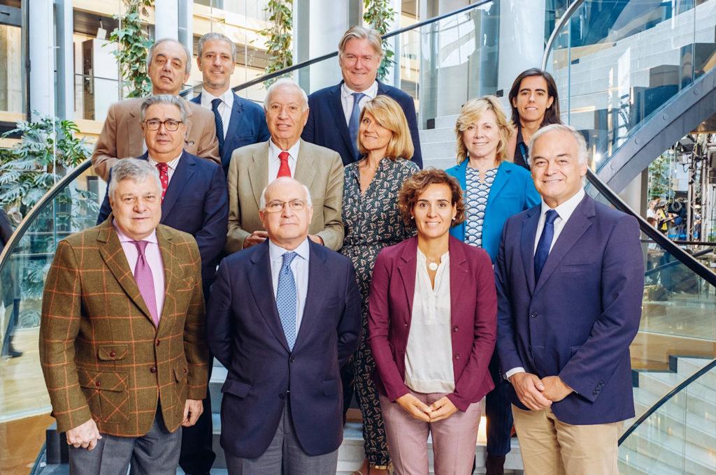 Foto delegación española PP septiembre 2019