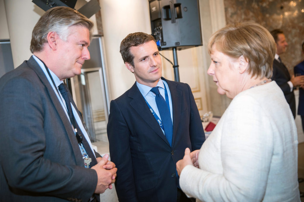 Merkel Casado EPP Summit June 2019